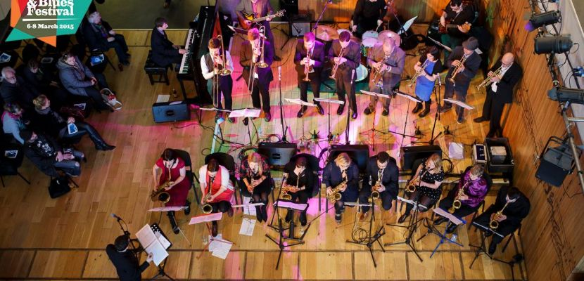 Playing in a community big band