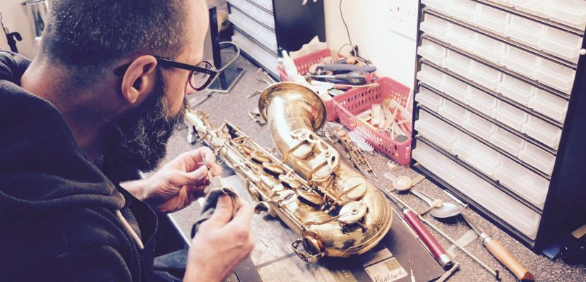 Repairing instruments: Q&A with John Pratt