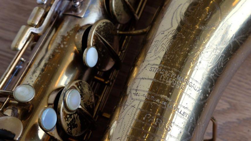 (Used) SML Hawkins Special Tenor Sax Rev A circa 1940