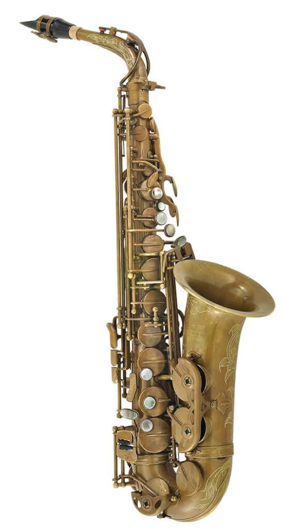 P.Mauriat 67RUL Alto Saxophone - Raw brass finish main image