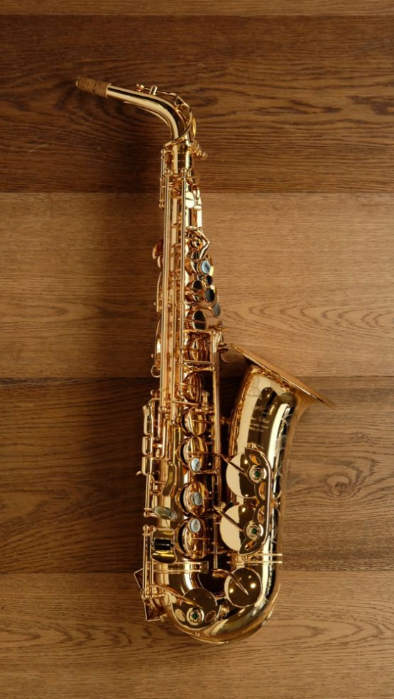 (Used) P.Mauriat 67RG Gold Plated Alto Sax main image
