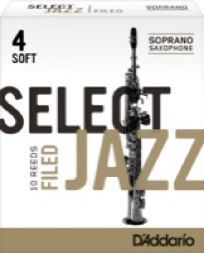 Jazz Select Filed Soprano Box