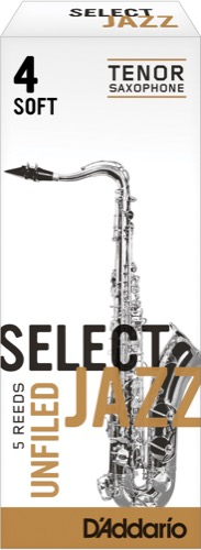 Jazz Select Unfiled Tenor Box