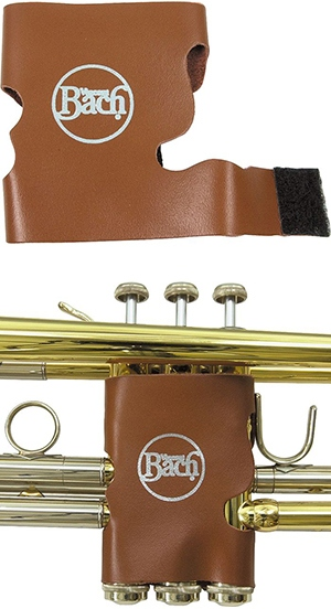 Bach leather valve guard (Brown)
