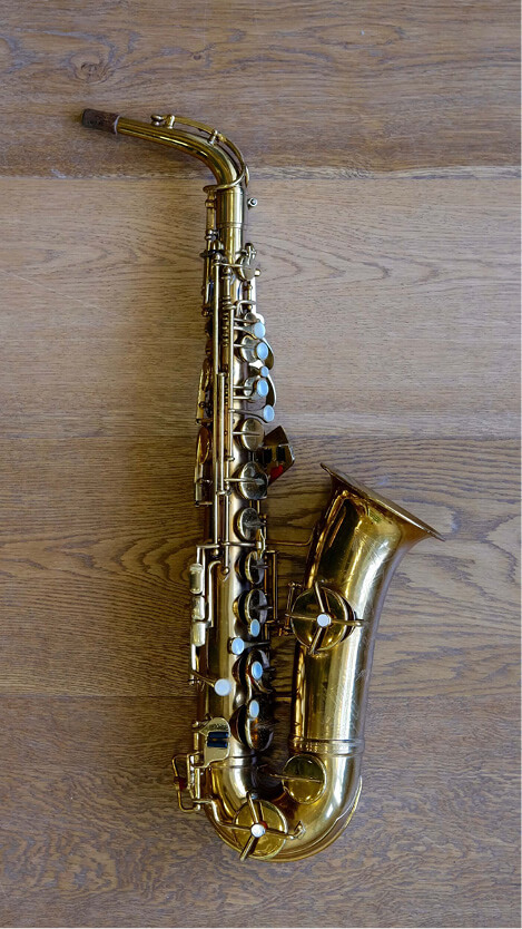 (Used) Rampone & Cazzani Gold Plated Alto Sax circa.whoknows!