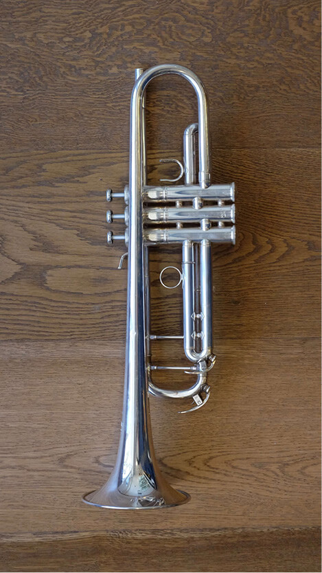 (Used) Yamaha Xeno 8345S Large Bore Trumpet