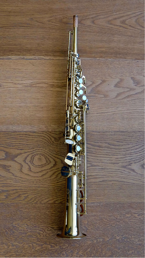 (Used) Selmer Super 80 Series II Soprano Sax - unengraved