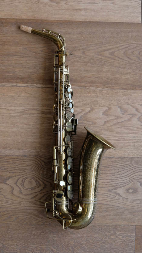 (Used) Selmer 'Radio Improved' Alto Sax circa.1934