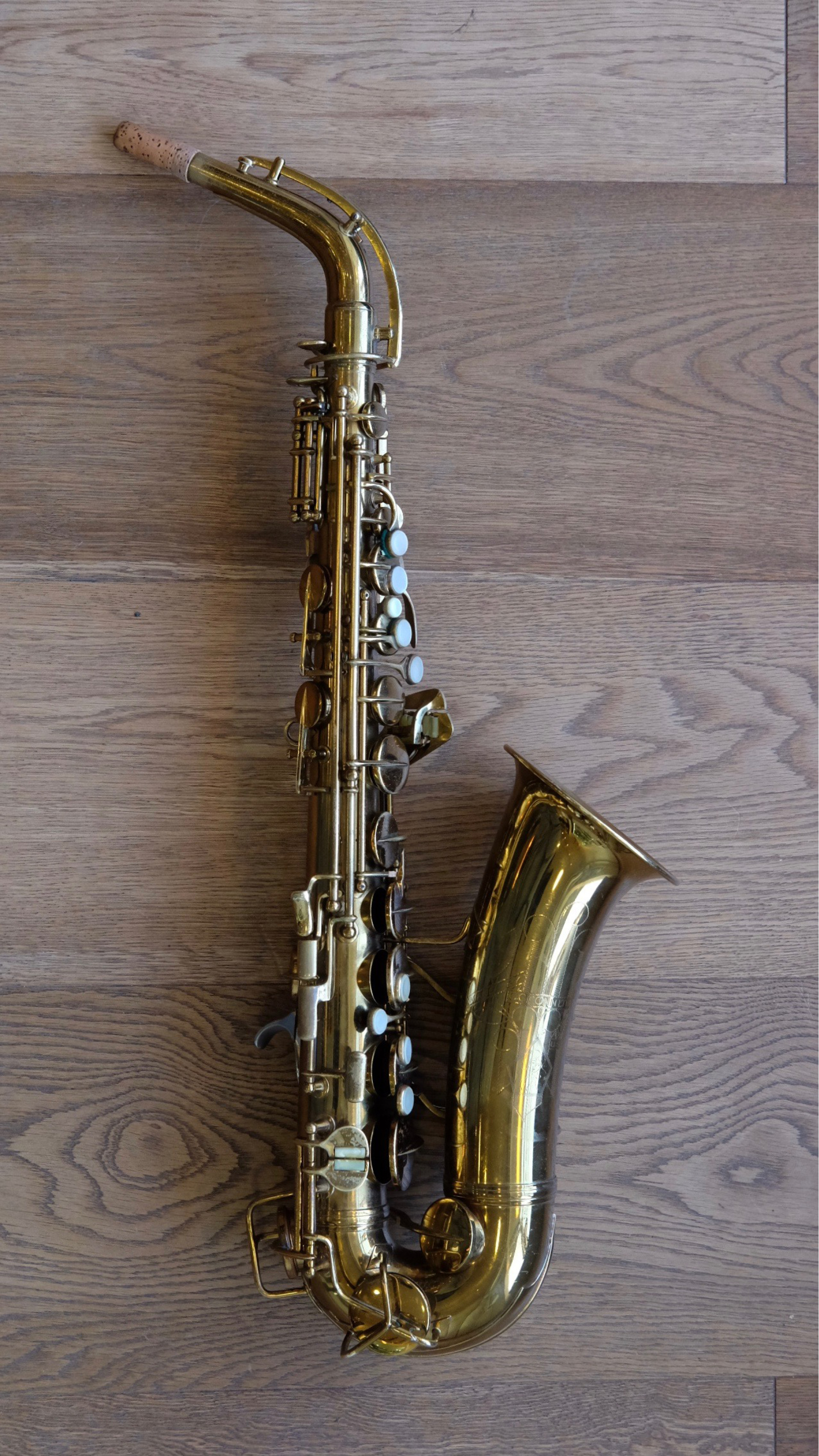 (Used) Conn New Wonder II 'Naked Ladyface' transitional Alto Sax circa.1934