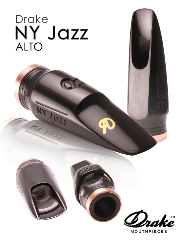 Drake New York Jazz Alto Mouthpiece