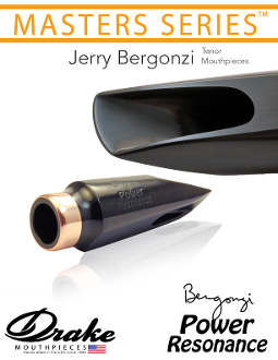Drake Master Series Jerry Bergonzi 'Power Resonance' Ebonite Tenor Mouthpiece