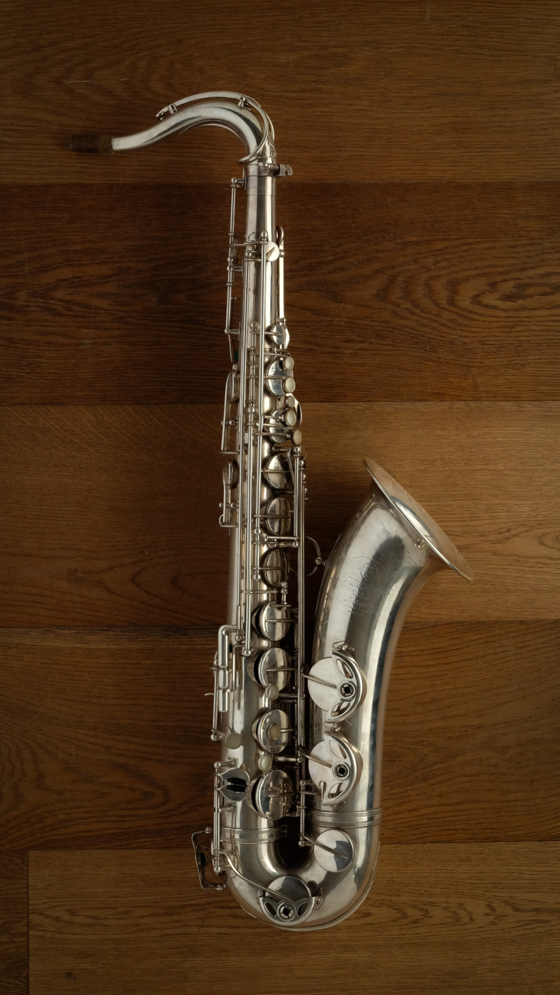 (Used) Selmer Super Balanced Action 40*** Silver Plated Tenor Sax